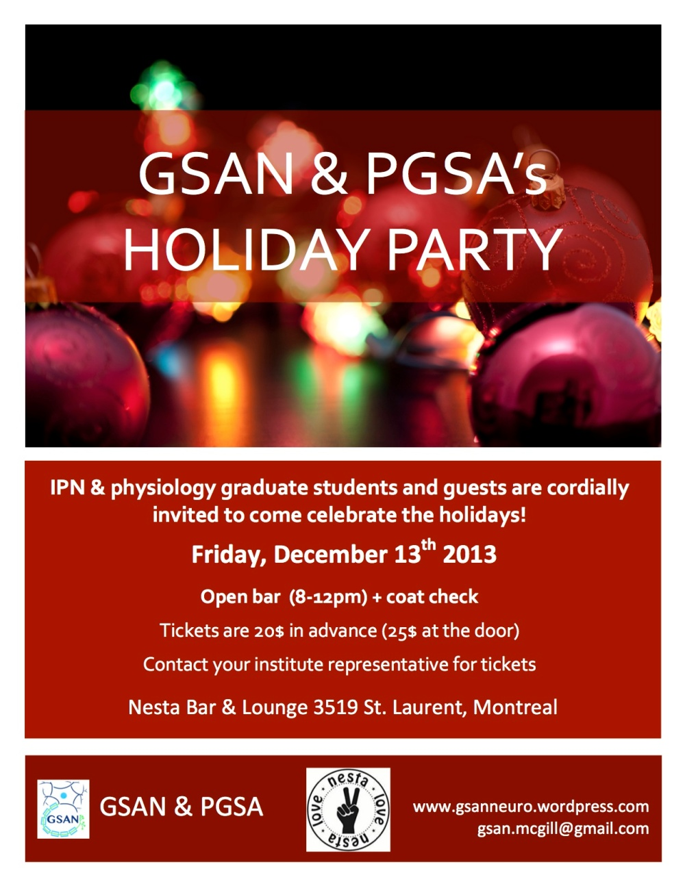 GSAN Holiday Party