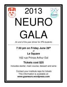 Neuro Gala Poster